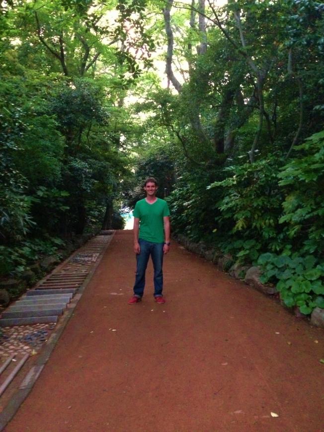 Exploring Odondo island.