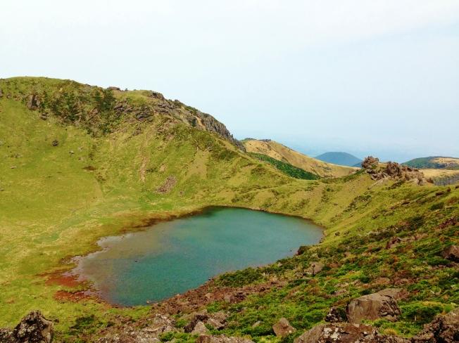 summit of Mt. Halla