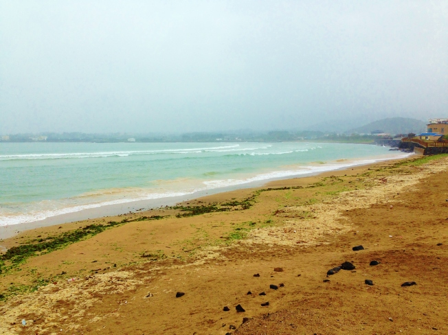 Beautiful Shinyang beach- Jeju.