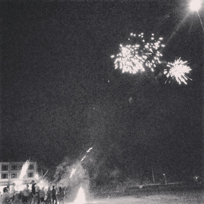 Fireworks on every beach we have camped at!!! Koreans love their fireworks (and so do WE!)