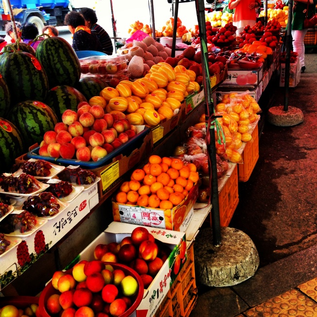 I adore the open air markets.