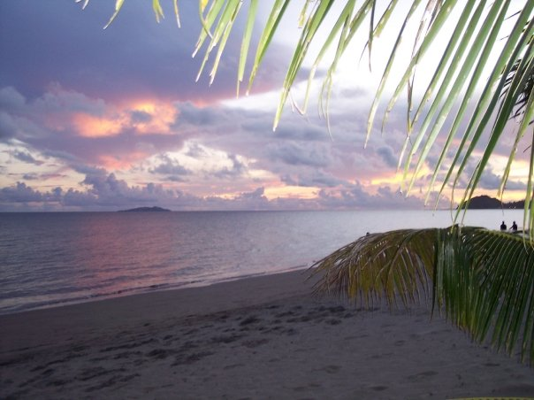 The most beautiful sunsets in Fiji