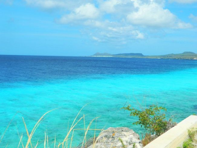 Bonaire Island (Just to the East of Aruba) visiting a friend from high school who lived in this little slice of paradise.