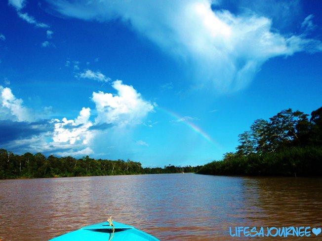 Gorgeous rainbow.