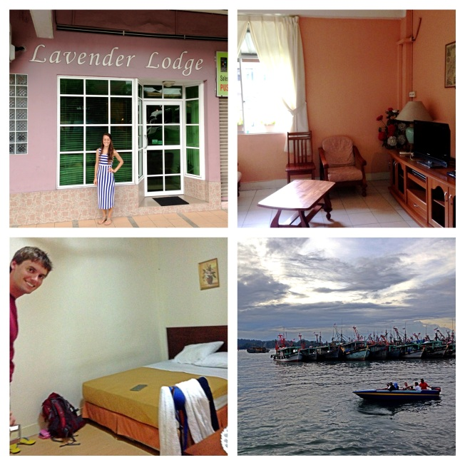 Lavender Lodge in Kota Kinabalu. We used the hostel world app to find this gem! AND only a 15 min walk to the ocean :)
